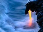 Lava del volcán Kilauea (Hawái)