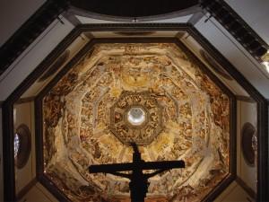 Frescos de Giorgio Vasari en la cúpula de la Catedral Santa María del Fiore (Florencia, Italia)