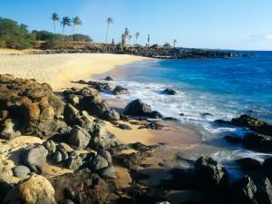 Playa Kepuhi, Hawái