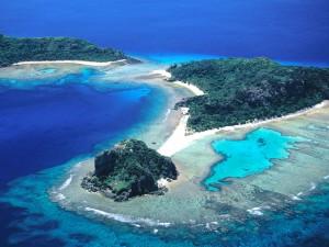 Las islas Vanua Levu y Navadra (Fiji)