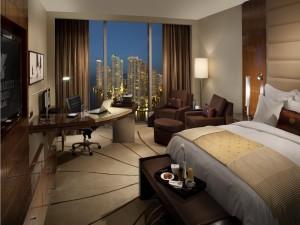Habitación de lujo de un hotel de Miami