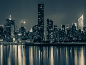 Noche en Manhattan (Nueva York)