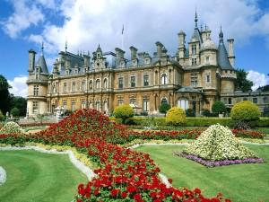 Jardines de Waddesdon Manor (Buckinghamshire, Inglaterra)