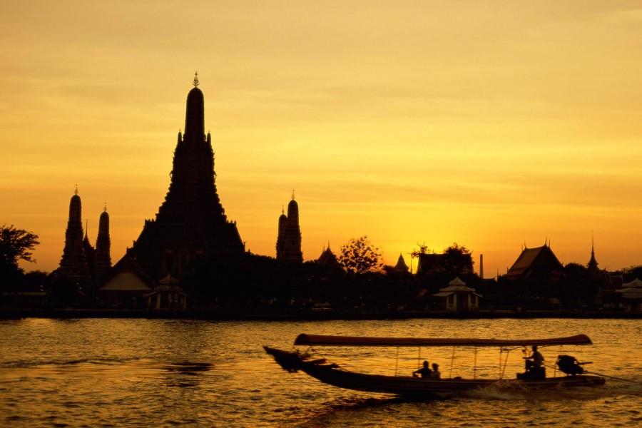El templo Wat Arun (Bangkok, Tailandia)