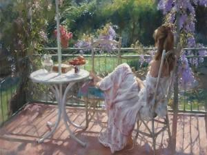 Pintura de Vicente Romero Redondo