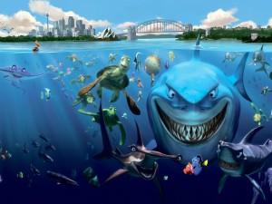 """Todos los personajes marinos de """"Buscando a Nemo"""""""