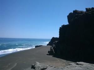 Playa Pullai, Cobquecura (Región del Bio-Bio, Chile)