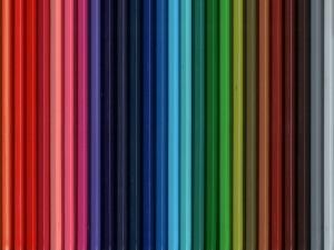 Lápices de varios colores