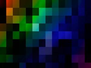 Cuadrados de varios colores