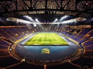 Vista del Metalist Stadium (F.C. Metalist Járkov, Ucránia)