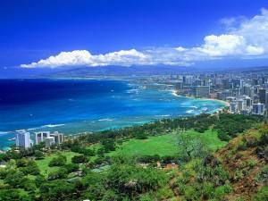 Vista de Oahu (Hawái)