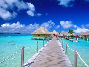 Complejo turístico en Bora Bora