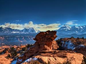 Montañas de Moab (Utah, Estados Unidos)