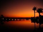 Puesta de sol en Dubai