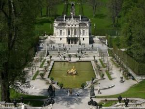 Palacio y parque de Linderhof (Baviera, Alemania)