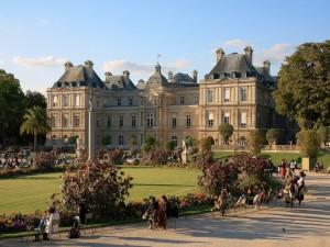 Jardines del Palacio de Luxemburgo de París
