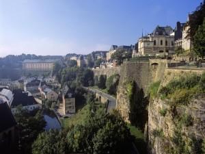 Panorama de la ciudad de Luxemburgo