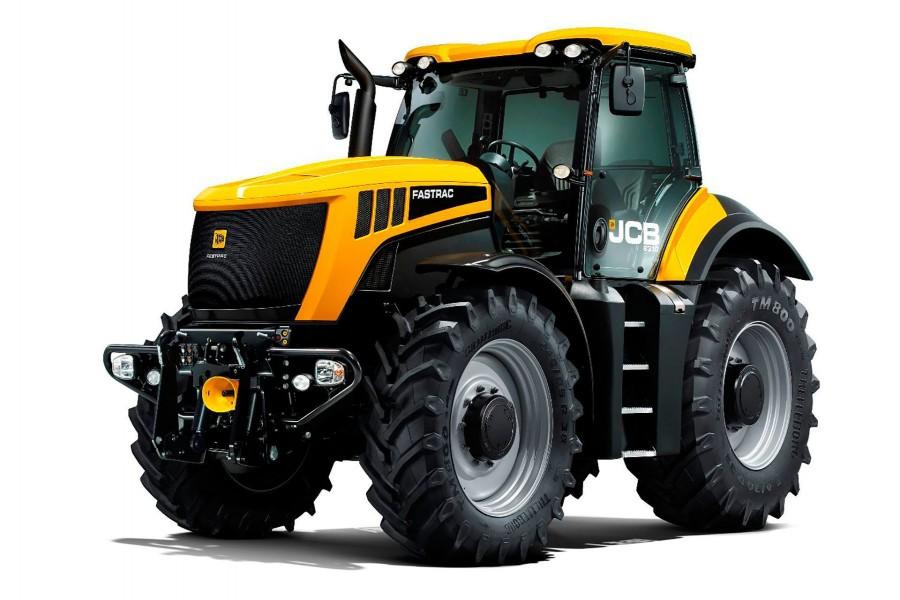 Tractor grande JCB para trabajos agrícolas
