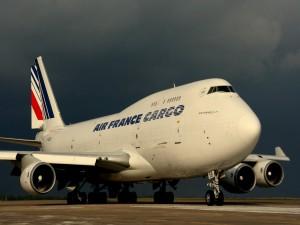 Avión de carga francés Boeing 747-400
