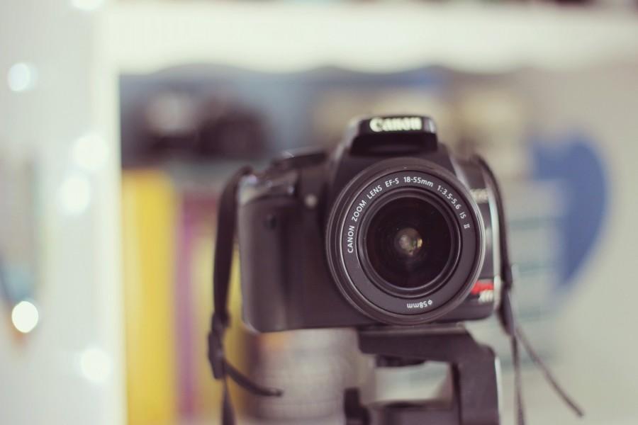 Cámara Canon 18-55mm