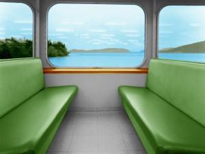 Asientos de un tren