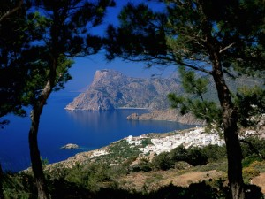 Mesohori Karpathos (Dodecaneso, Grecia)