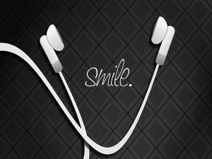 Escucha música para sonreir a la vida