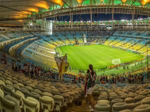 Vista panorámica del estadio Maracaná