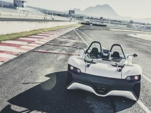 Vuhl 05 en un circuito