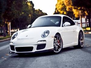 Porsche 911 GT3 en una carretera