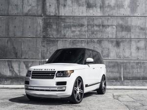 Un bonito Range Rover