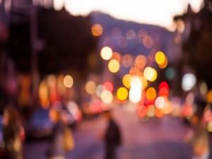 Luces en una ciudad