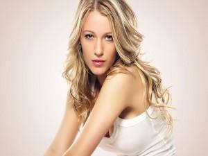 La guapa actriz Blake Lively