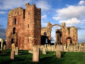 Ruinas de Lindisfarne (Inglaterra)