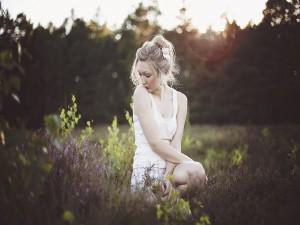 Chica en el campo