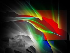 Formas abstractas coloridas