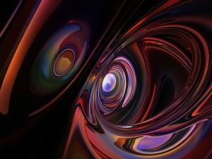 Formas y figuras abstractas en tercera dimensión