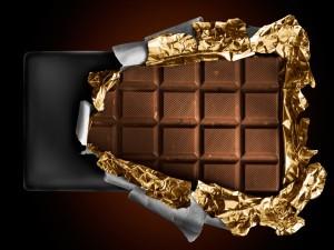 Desenvolviendo una tableta de chocolate