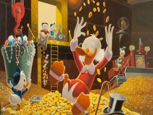 El Tio Gilito y el Pato Donald (El Pato más rico del mundo)