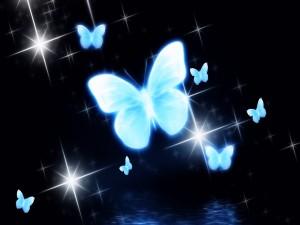 Brillantes mariposas