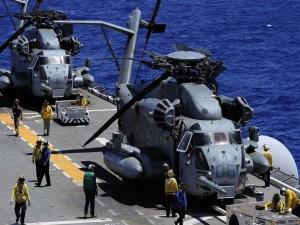 El Sikorsky CH-53E Super Stallion