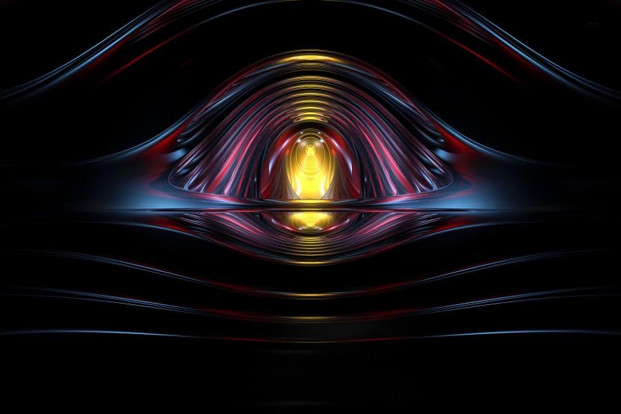 Ojo en tercera dimensión