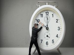 Tratando de detener el tiempo