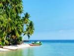 Playa de arena blanca (Islas Derawan)