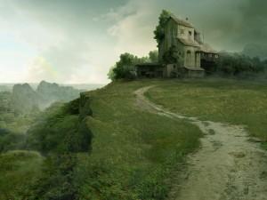Una casita en la colina