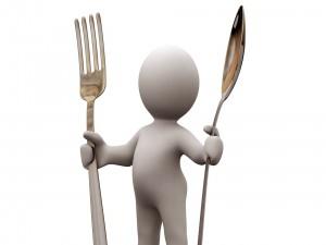 La hora de la cena