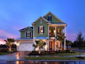 Espléndida casa iluminada