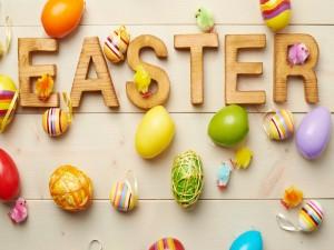 Decoración para el festejo de Pascua