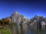 Sensacional vista de un lago en Austria