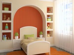 Encantador dormitorio infantil